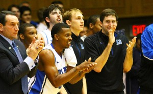 Duke Basketball Bench