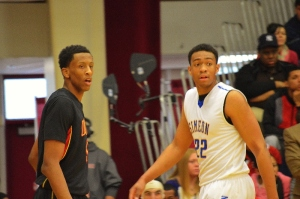 Troy Williams, Oak Hill, and Jabari Parker, Simeon
